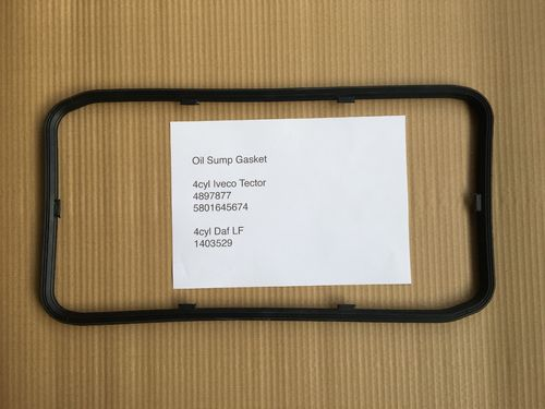 Iveco Tector 4cyl Sump Gasket also Daf 45LF
