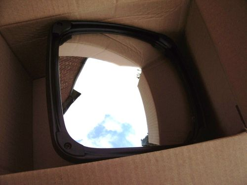 "Wide Angle 8"" x 8"" mirror M2381CE 16-28mm arms"